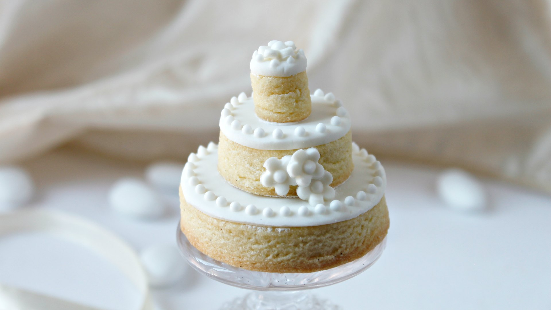 Segnaposto Matrimonio Wedding Cake.Ricetta Mini Wedding Cake Segnaposto Ifood
