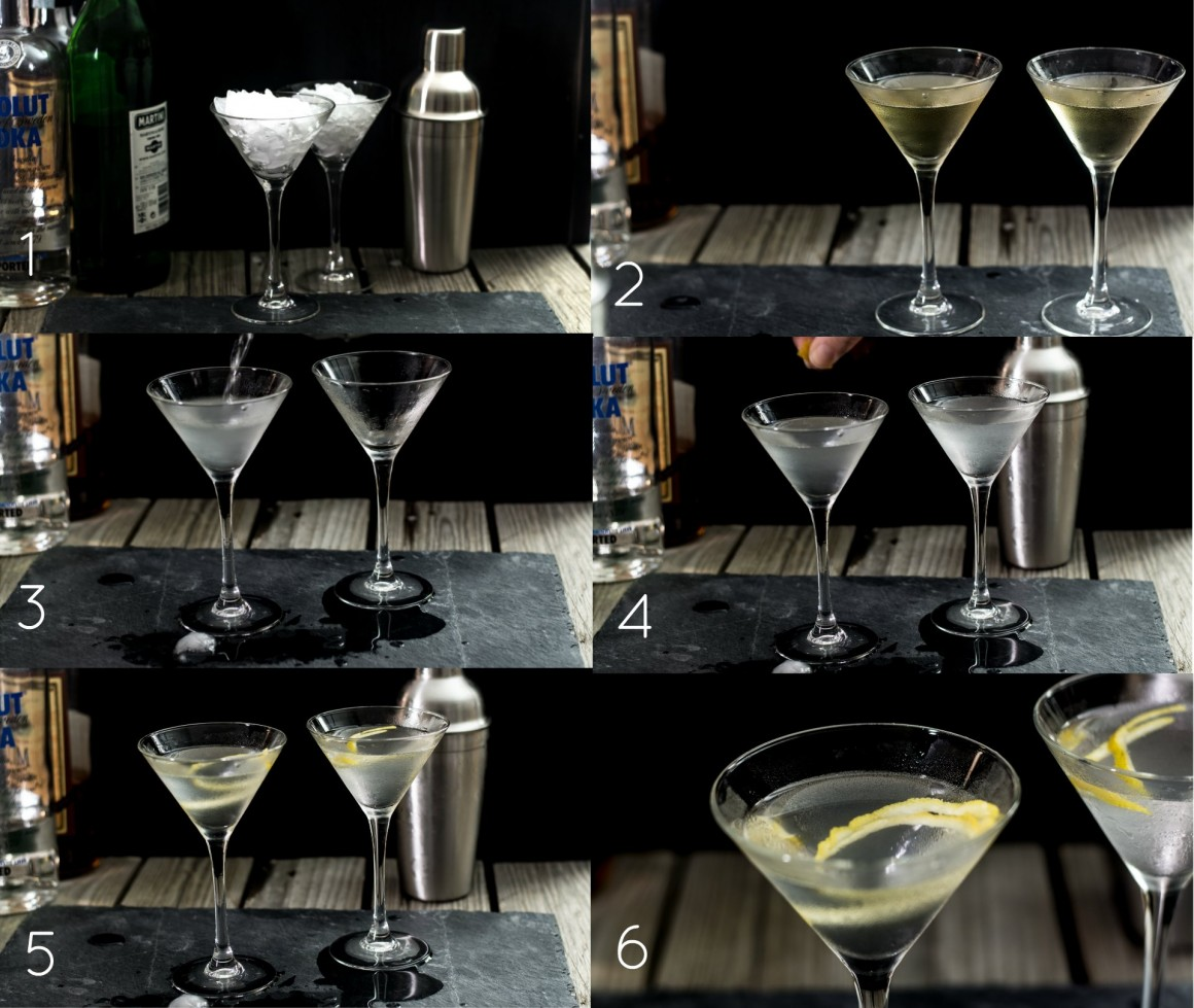 vodkatini e tequini cocktail after dinner ifood recipe collage how do you do