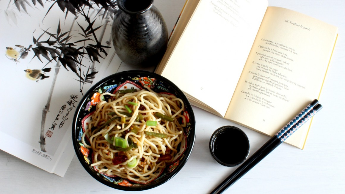 Scallion oil noodles In evidenza