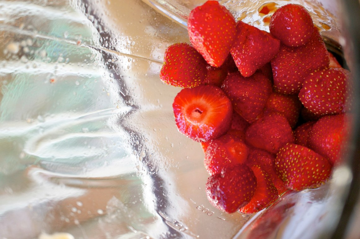 mousse light fragole