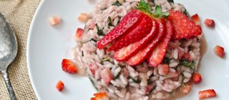 Risotto fragol