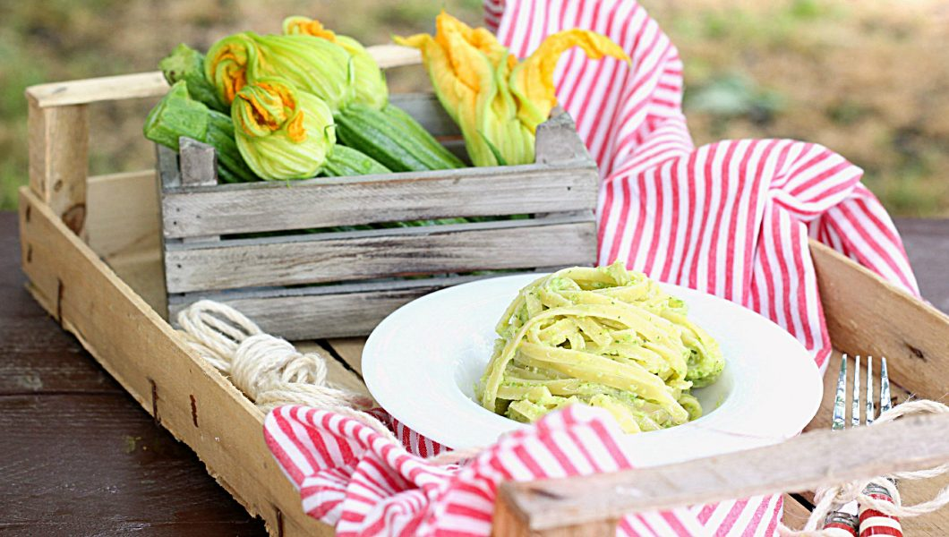 Linguine al pesto di zucchine_Ifood