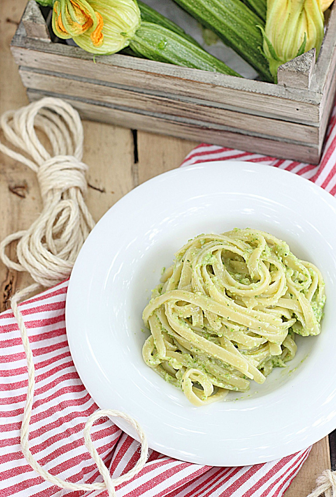 Linguine al pesto di zucchine_Ifood 2