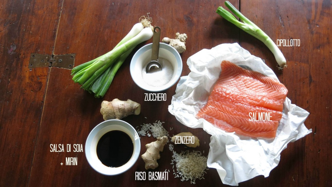 ingredienti SALMONE