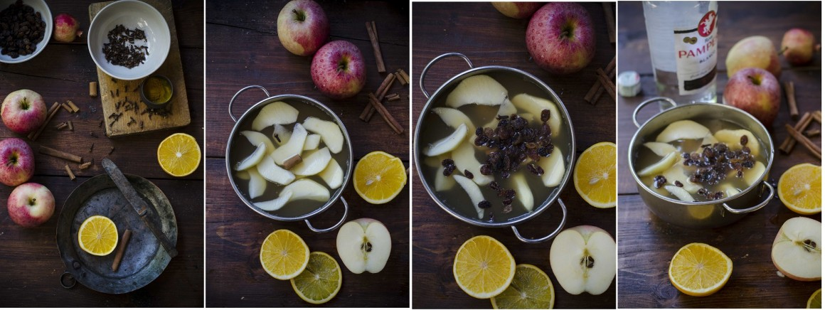 apple pie punch collage