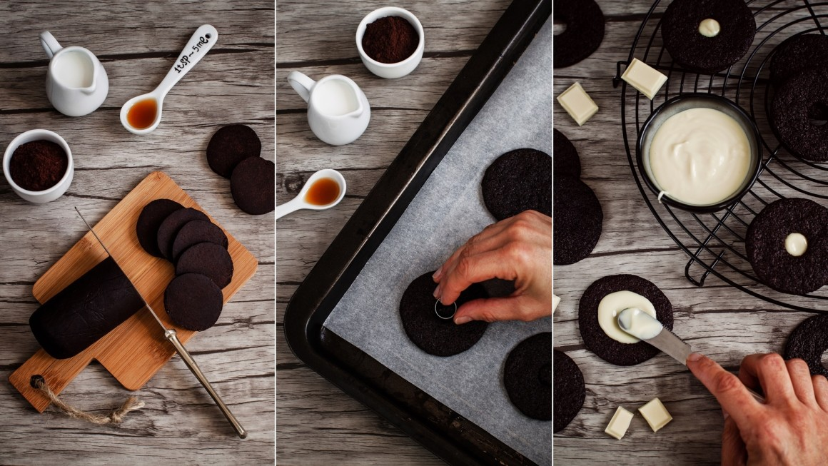 chocolate wafer collage