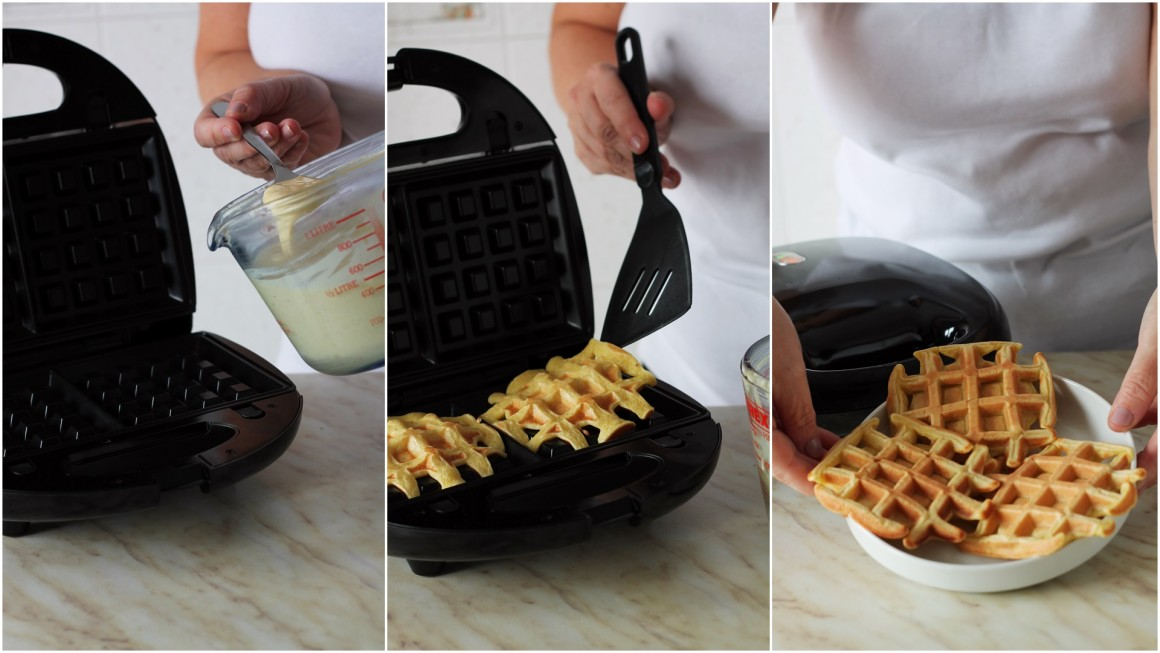 Waffels alla cannella collage 2