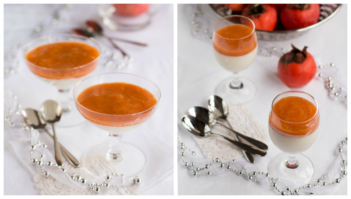 panna cotta collage