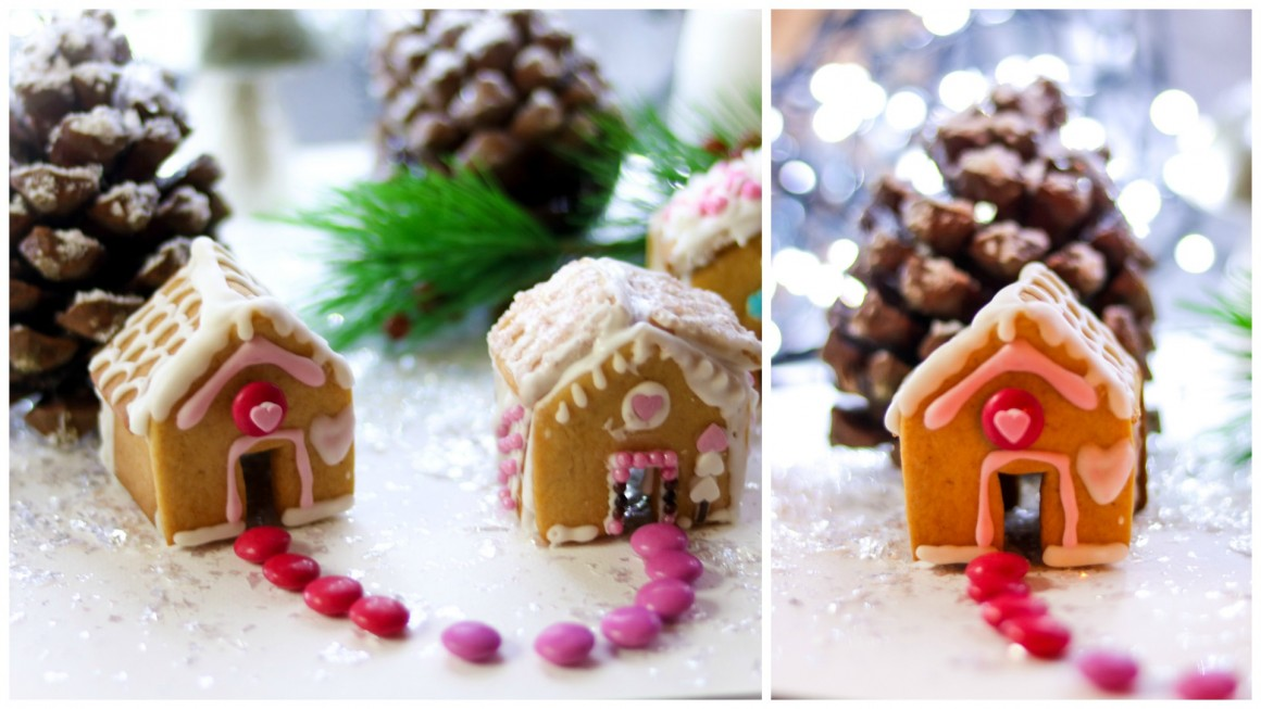 Gingerbread house collage3