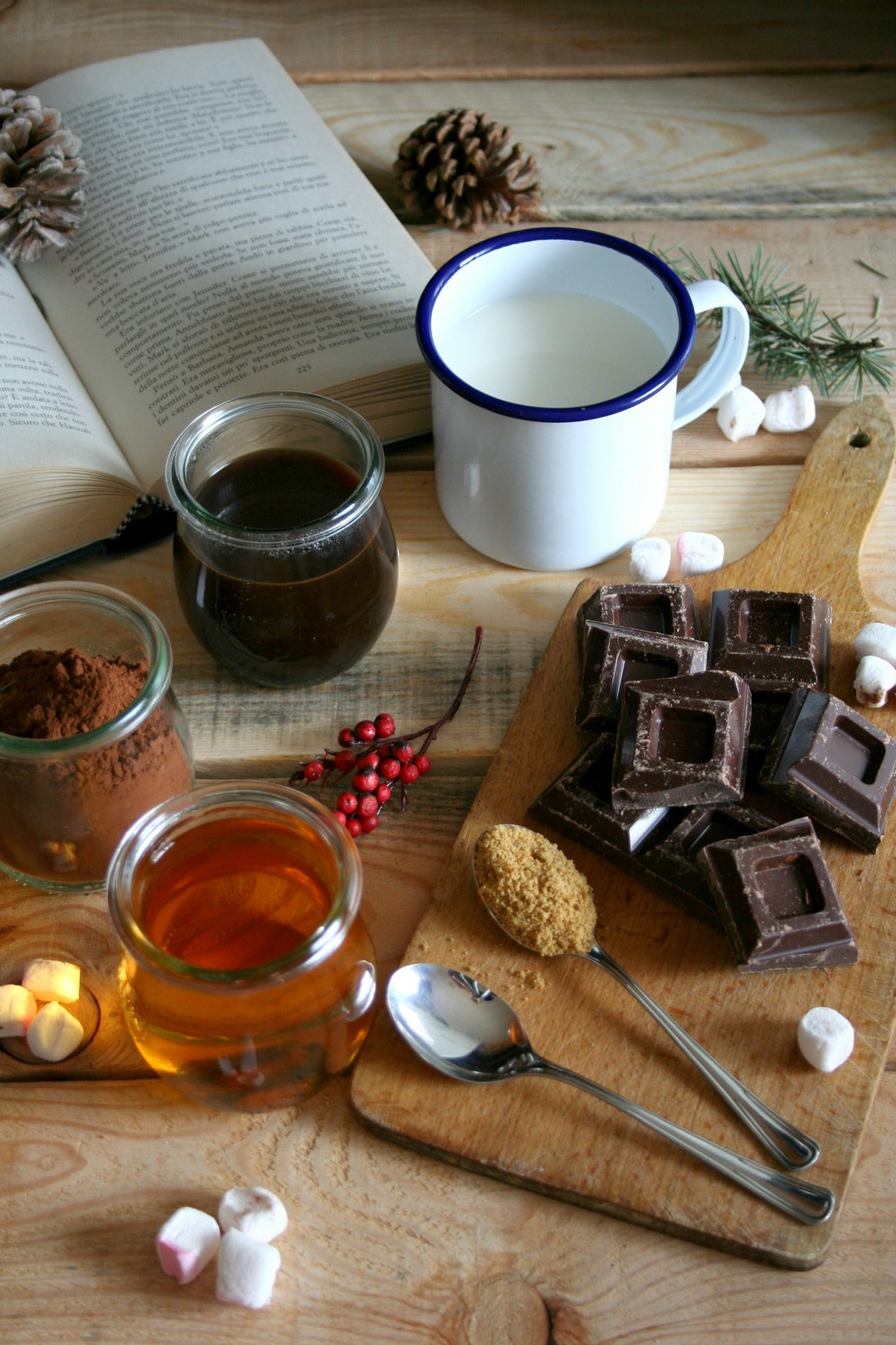 cioccolata calda ingredienti