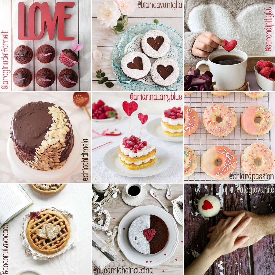 collage ifoodvalentine