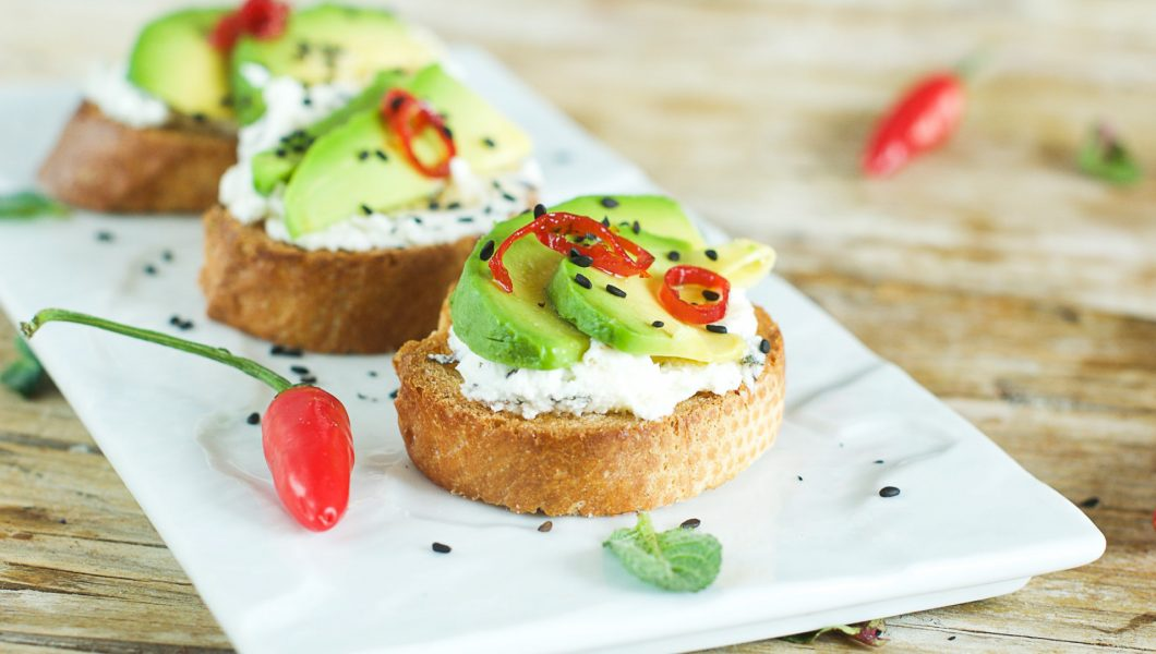 avocado dip mit quark