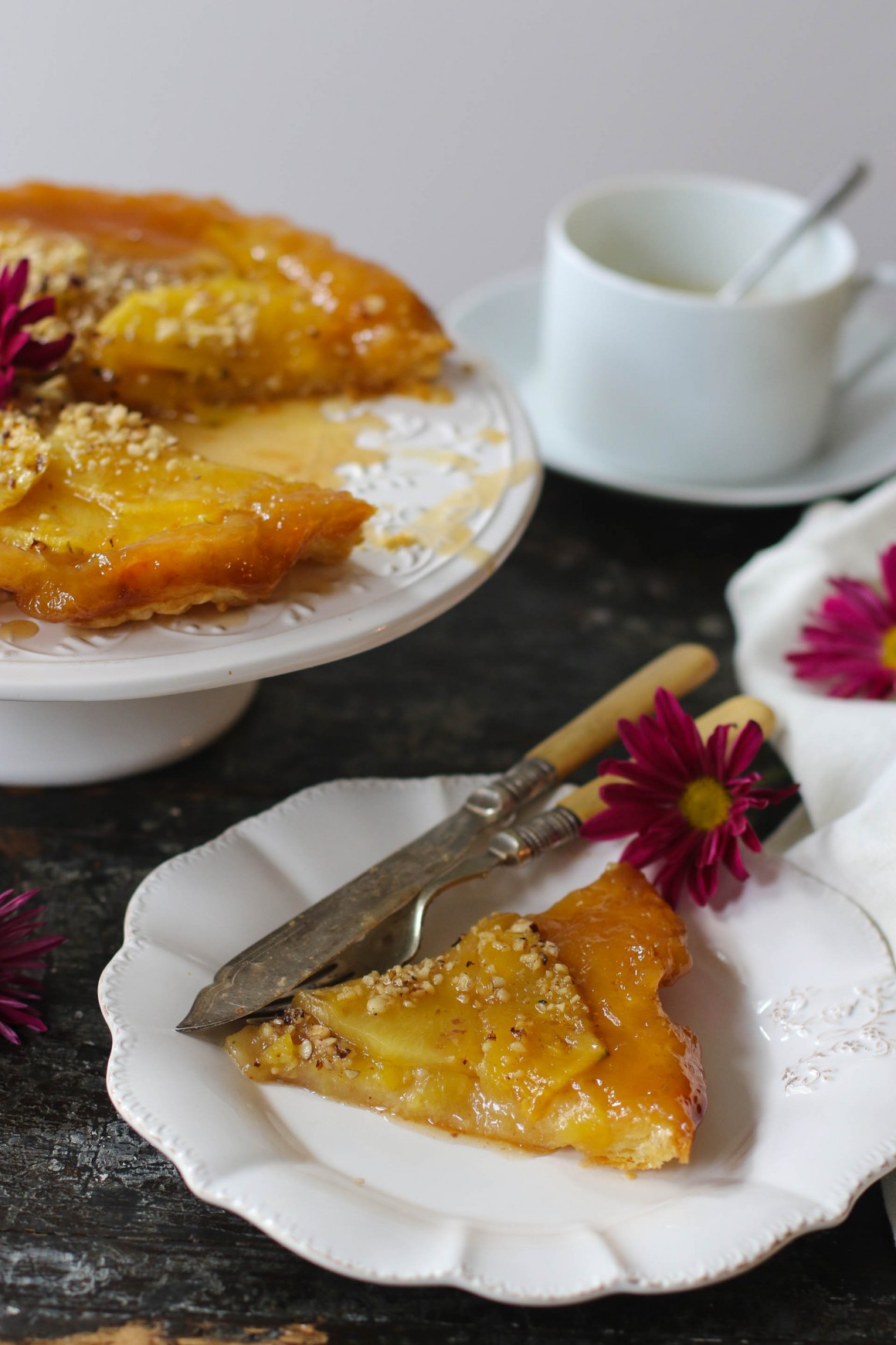 tarte tatine all'ananas