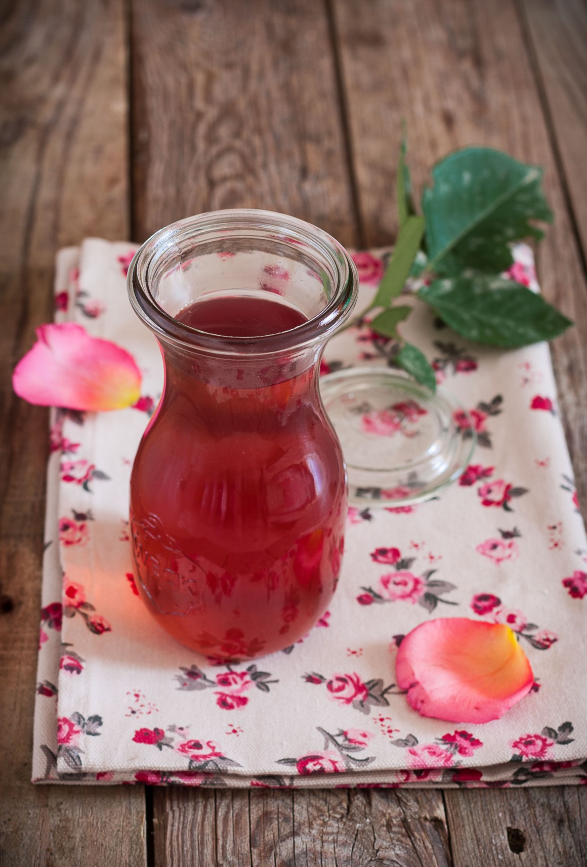 sciroppo di rose homemade (5)