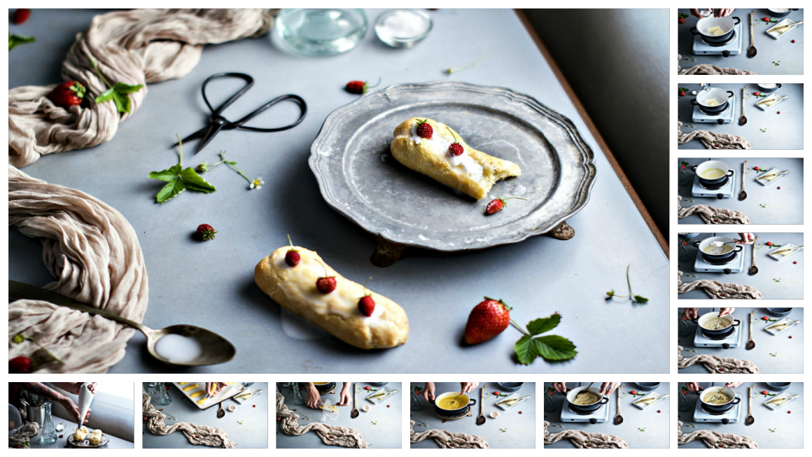 ECLAIR ALLE FRAGOLE 2 PicMonkey Collage
