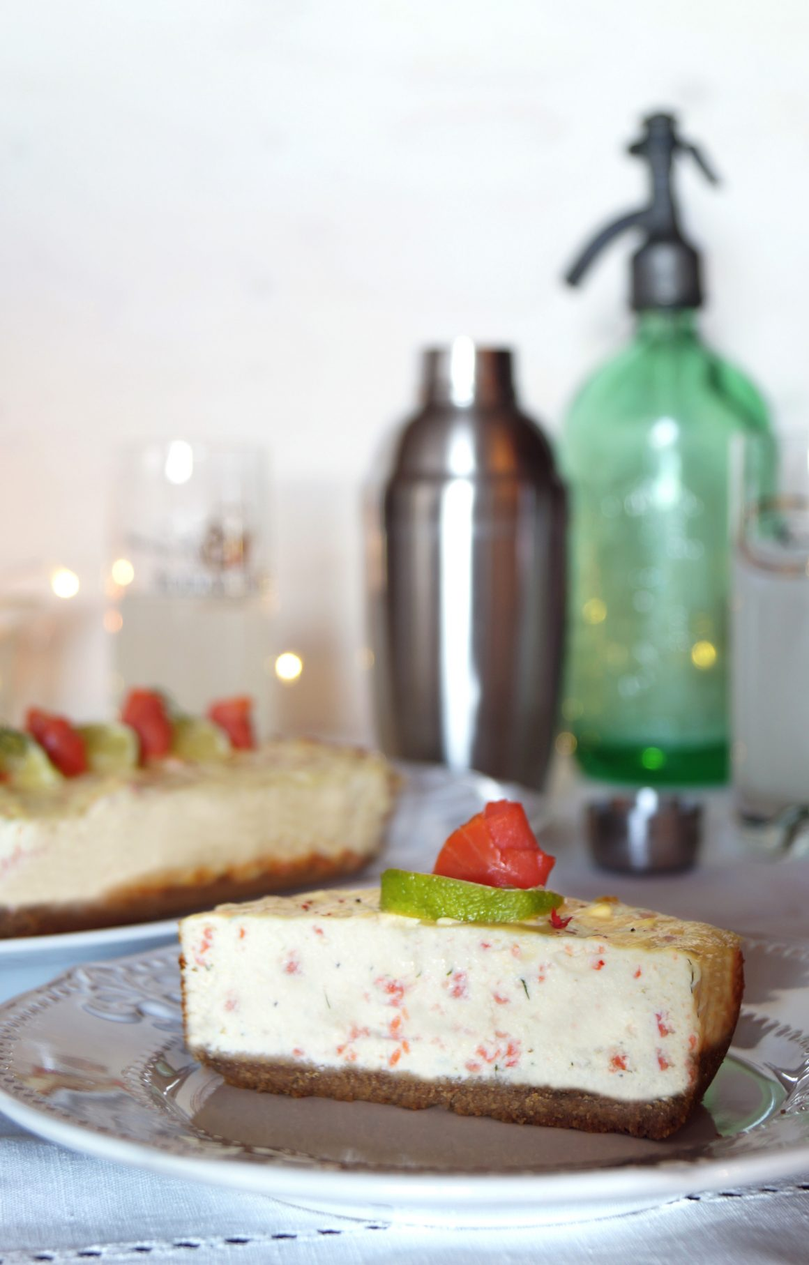 cheesecake-salmone affumicato