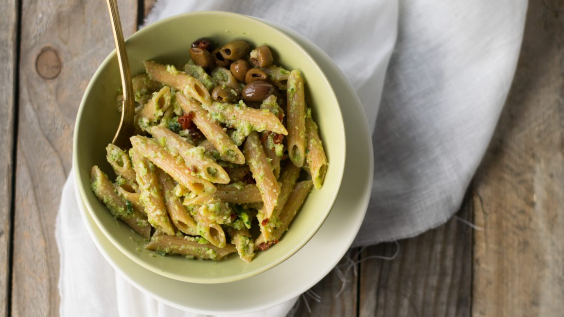 Penne al pesto di broccoli-10