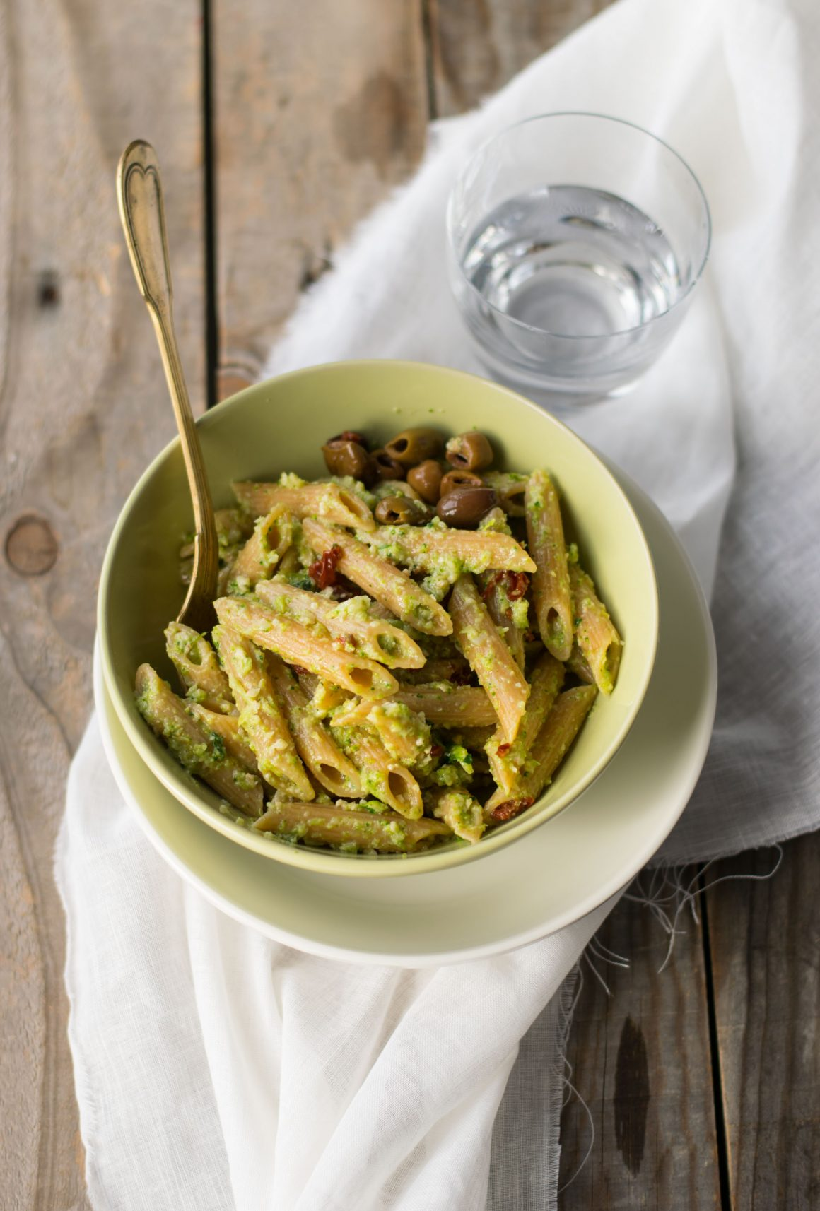 Penne al pesto di broccoli-6