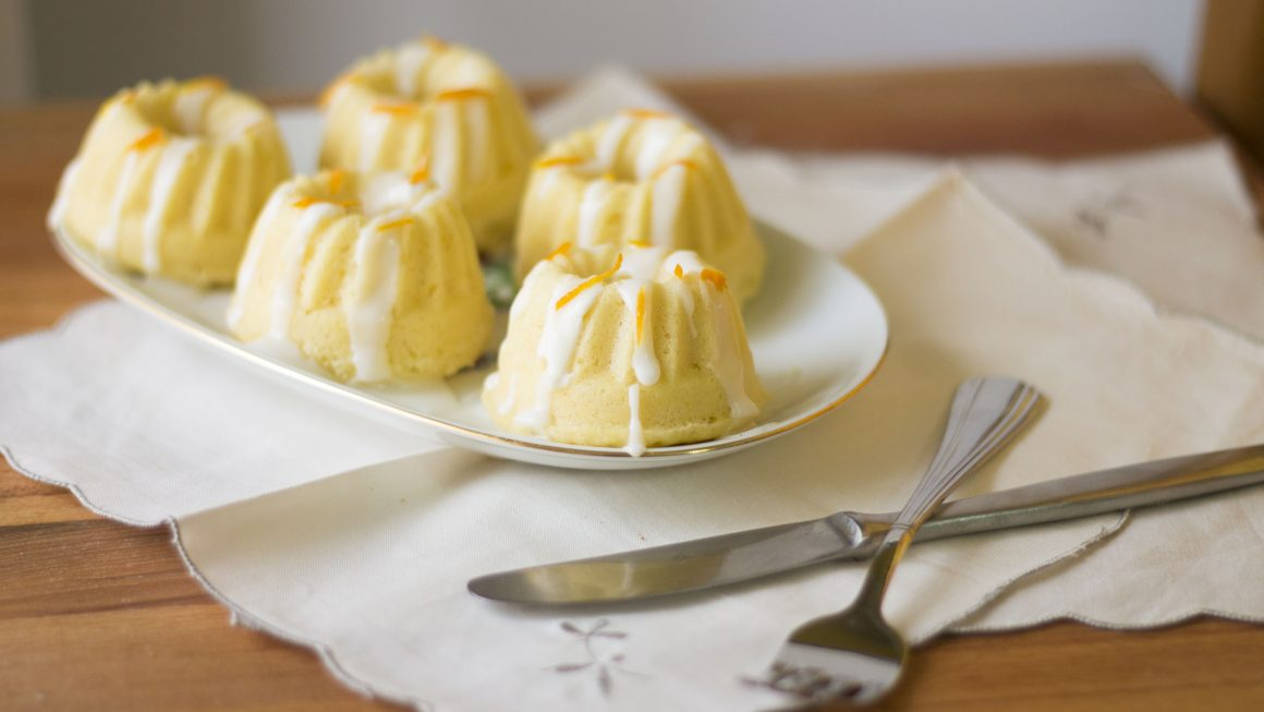 mini bundt cake oriz