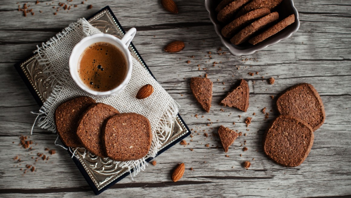 almond coffee shorties or